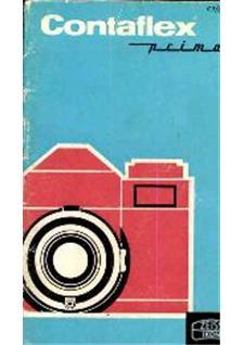 Contaflex Camera Manual