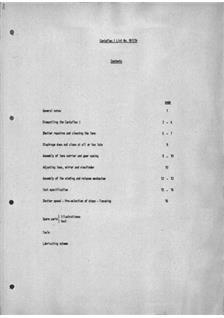 Zeiss Ikon Contaflex 1 Printed Manual